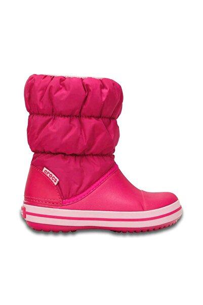Crocs Kids WINTER PUFF BOOT KIDS Koyu Pembe Unisex Çocuk Bot 100528571