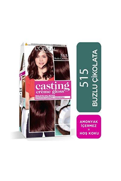 L'Oreal Paris Saç Boyası - Casting Creme Gloss 515 Buzlu Çikolata 3600523302918
