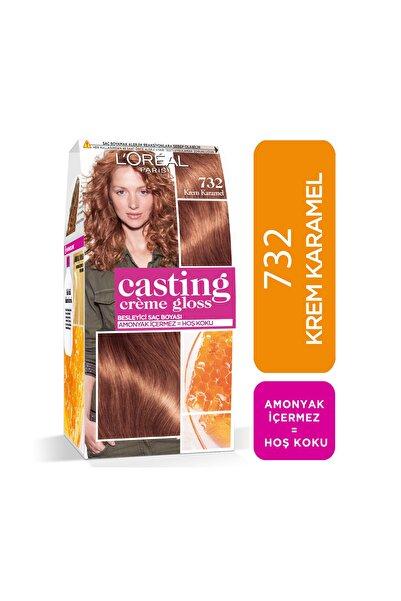 L'Oreal Paris Saç Boyası - Casting Creme Gloss 732 Krem Karamel 3600523281619