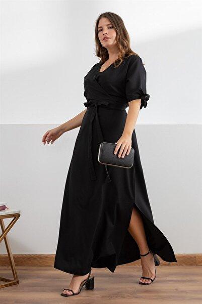 Melisita Kadın Siyah Elbise fw9901925eb