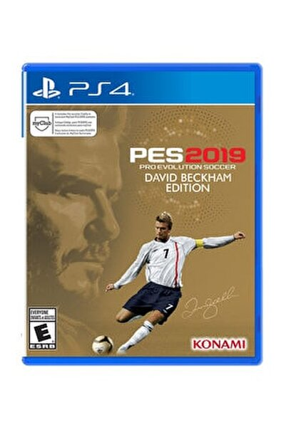 Pes 2019 David Beckham Edition PS4 Oyun