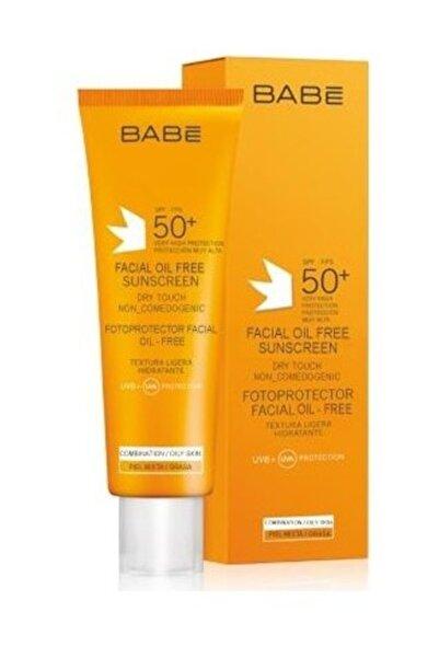 Babe Spf 50 Faktör 50 ml Yüz Için Suya Dayanıklı Yağsız Güneş Kremi