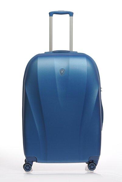 Beverly Hills Polo Club Lacivert Unisex Büyük Boy Valiz & Bavul Bhpc105513-L