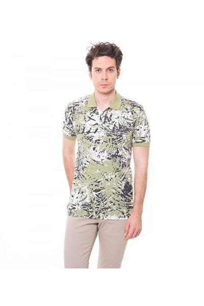 Karaca Erkek Slim Fit Pike T Shirt   Yeşil