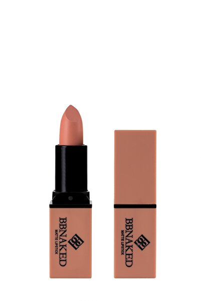 Blueberry Mat Ruj - Matte Lipstick Pembe BBK-MLS01 BB Naked Professional Makeup 8682367009012