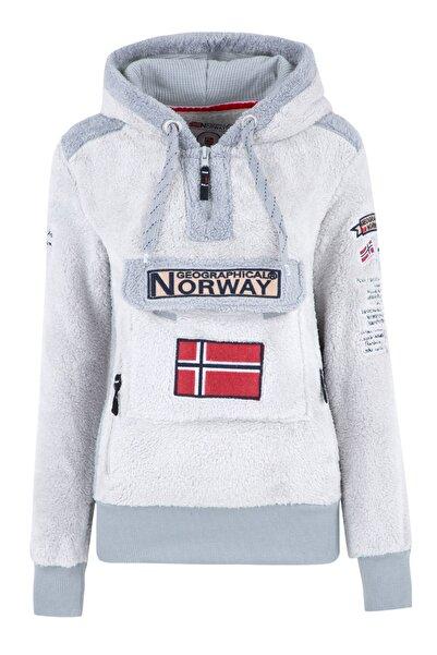 Norway Geographical Kadın Gri Sweatshirt GYMCLASS