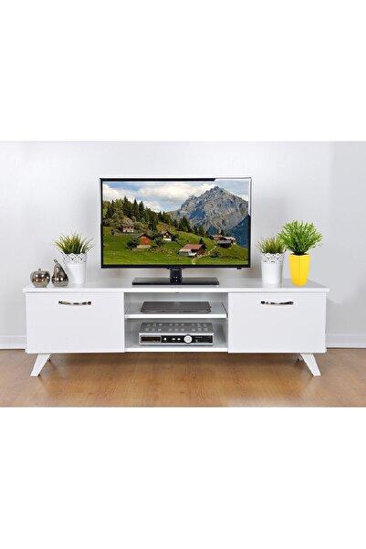 Haus Modüler Tv Sehpası Beyaz