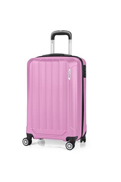 POLO&SKY Pembe Unisex Kabin Boy  Valiz & Bavul Psv0150