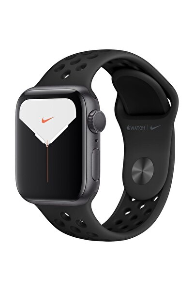 Apple Watch Nike Series 5 GPS 44 mm Uzay Grisi Alüminyum Kasa ve Nike Spor Kordon