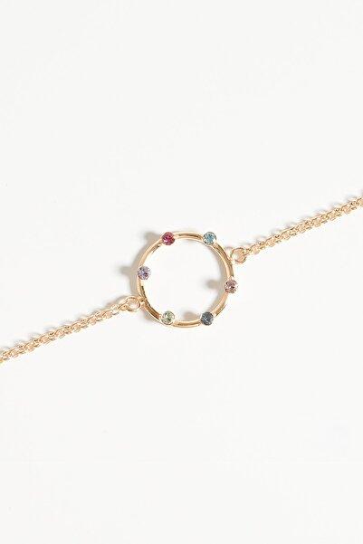 Lapidore Kadın Andromeda Crystal Taşlı Rose Gold Bileklik LBR1022