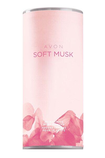 AVON Soft Musk Pırıltılı Vücut Pudrası 40 g 8681298930587