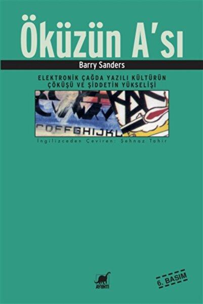 Ayrıntı Yayınları Öküzün A'sı - Barry Sanders