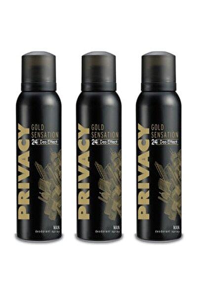 Gold Men Deodorant 3 x 150 ml