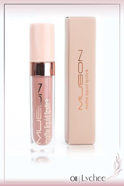Muson Kozmetik Muson Matte Liquid Lipstick 6 ml - Lychee