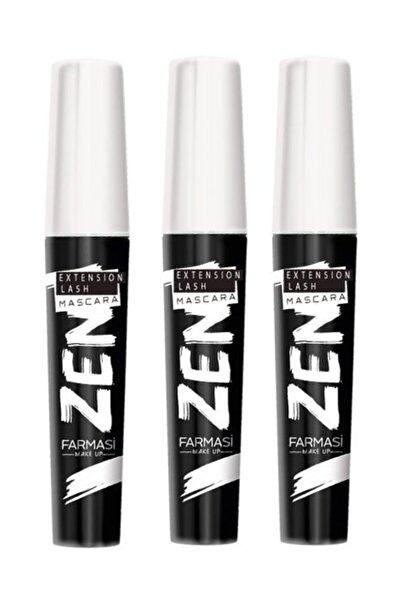 Farmasi 3 Adet Zen Maskara 8 ml