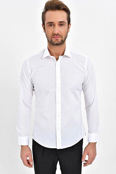 Centone Slim Fit Uzun Kol Gömlek 19-0339