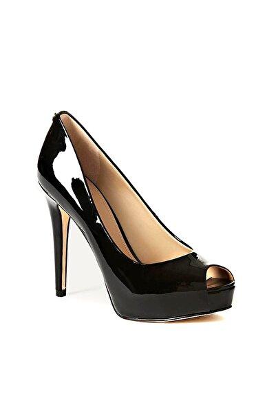 Guess Collection Kadın Siyah Klasik Topuklu Ayakkabı FLHA14PAF07