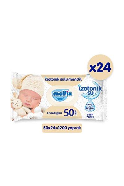 Molfix Yenidoğan Izotonik Islak Mendil 24lü Paket