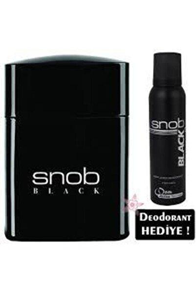 Snob Orıjınal Black Erkek Parfüm Seti 100ml Edt + 150ml Snop Deodorant
