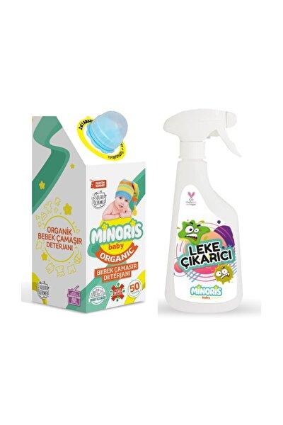 Minoris Organik Bebek Çamaşır Deterjanı ve Leke Çıkarıcı Set