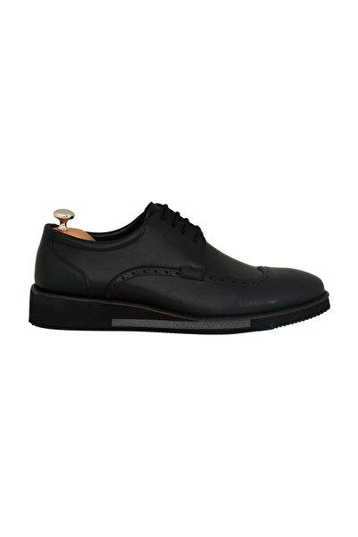 Elegante Crotone Nero Erkek Ayakkabı 134-1