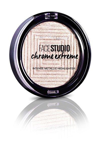 Maybelline New York Aydınlatıcı - Face Studio Chrome Extreme Highlighter 200 Diamond Glow 3600531524159