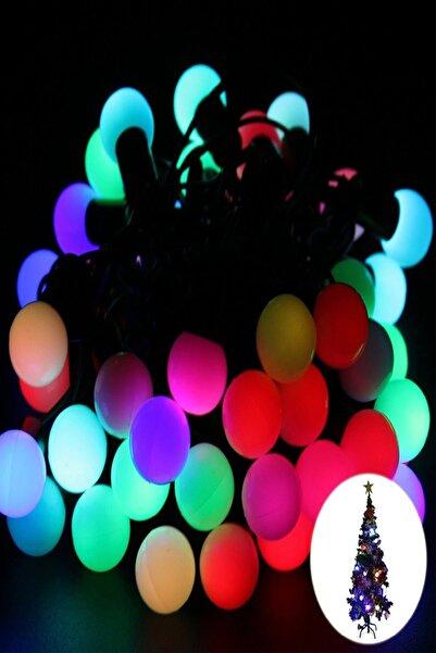 Gringo Karışık Renkli 40 Ampullü Yılbaşı Top Led Işık 4.5 Metre