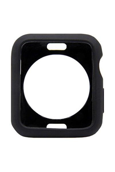 Microcase Apple Watch Seri 5 44 Mm Armor Tpu Silikon Kılıf - Siyah