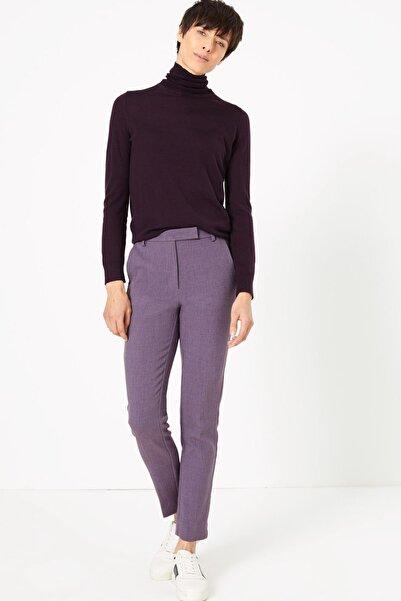 Marks & Spencer Kadın Mor Slim Leg Ankle Pantolon T59005665
