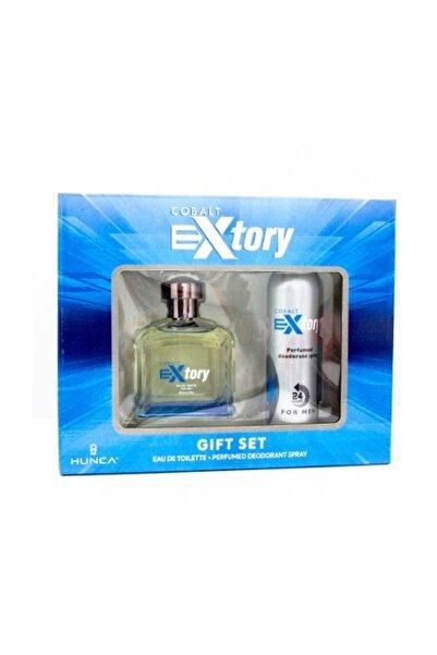 Extory Cobalt Set Edt 100ml+ Deo 150ml Erkek Set