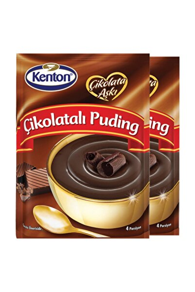 Kenton Puding Çikolata Aşkı Çikolatalı 100 Gr X 2'li Paket