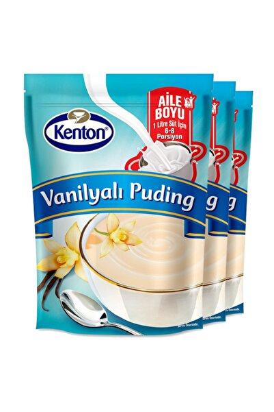 Kenton Puding Vanilyalı Aile Boyu 165 Gr X 3'lü Paket