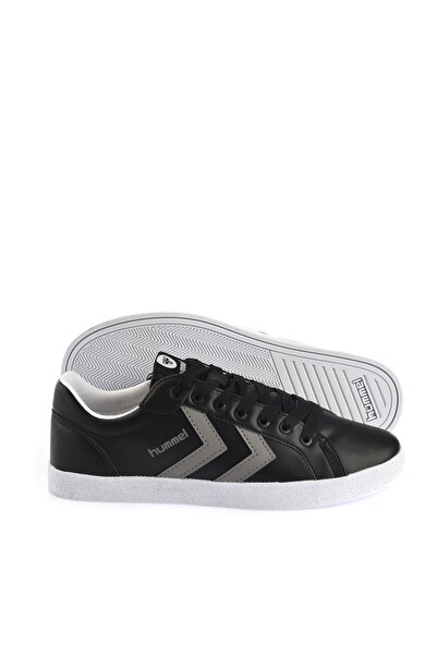 HUMMEL Unisex Siyah Spor Ayakkabı - Deuce Court Tonal