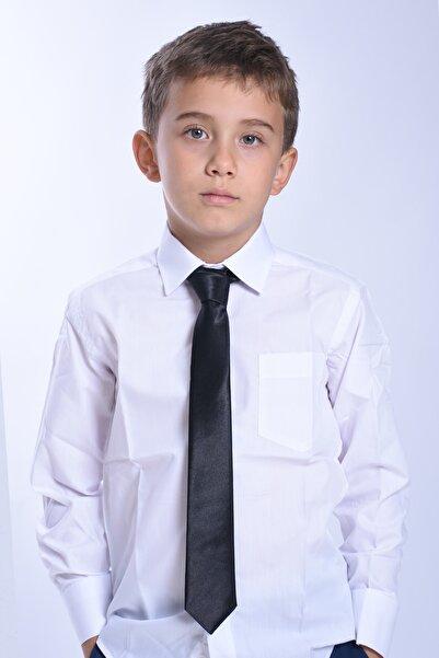ceocuk Siyah Renk Çocuk Kravatı