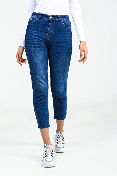Collezione Kadın Mavi Pantolon Nodek UCB021848A22