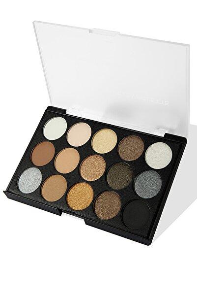 Newmacy 15'li Profesyonel Göz Farı Paleti - 15 Colors Eyeshadow Palette N4 8681702001704