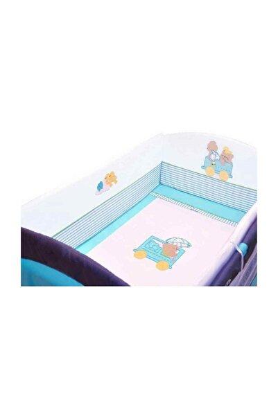 Sunny Baby 652 Oyunparkı Uyku Seti 70x110 Cm Arabalı Mavi