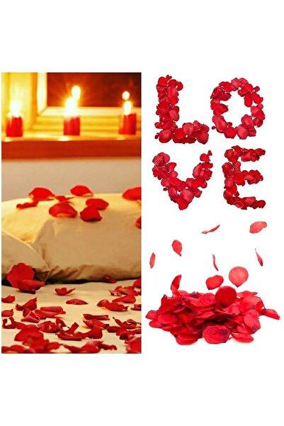 Parti dolabı 500 Adet Kırmızı Gül yaprakları Evlilik Teklifi Gül Yaprağı