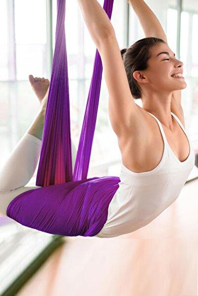 Bundera Yoga Fly Hamağı Tavana Askılı Yer Çekimsiz Fitness Pilates Hava Akrobasi Egzersiz Denge Spor Aleti