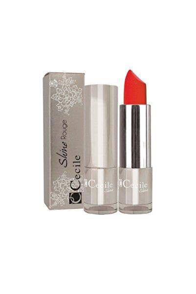 Cecile Shine Rouge Lipstick Ruj 08