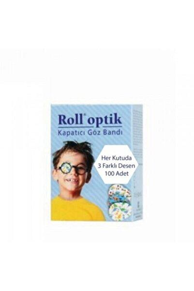 Kurtsan Roll Optik Kapatıcı Göz Bandı 100 Adet Erkek