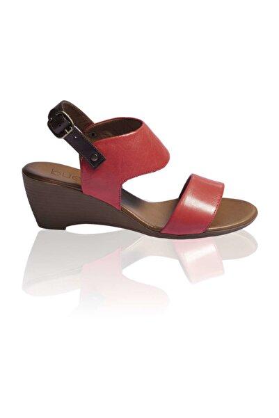 BUENO Shoes Kırmızı Bayan Sandalet 9n3700