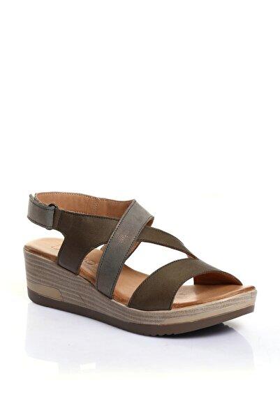 BUENO Shoes Lacivert Bayan Sandalet 9l3306