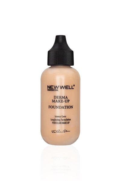 New Well Fondöten - Derma Makeup Foundation Intense Cover 06