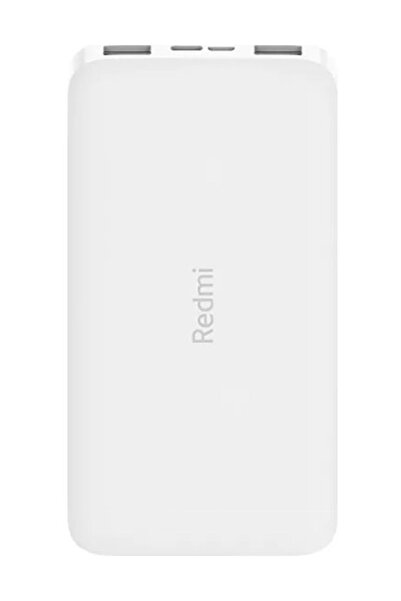 Xiaomi Redmi 10000 Mah Taşınabilir Hızlı Şarj Cihazı  - Powerbank - Beyaz