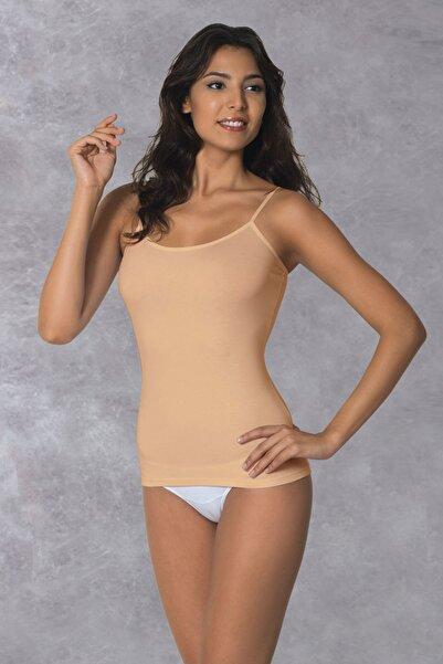 Doreanse Kadın Ten Rengi Modal Ip Askılı Ten Atlet 9366