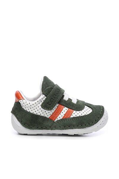 KEMAL TANCA Hakiki Deri Yeşil Çocuk Ayakkabı 581 1007 CCK AYK 18-21 Y19