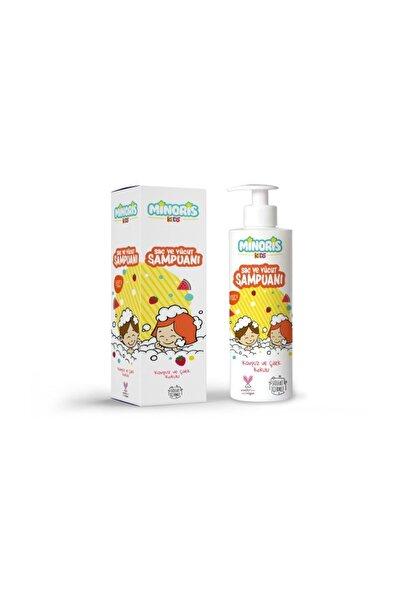Minoris Kids Organik Saç ve Vücut Şampuanı 200ml