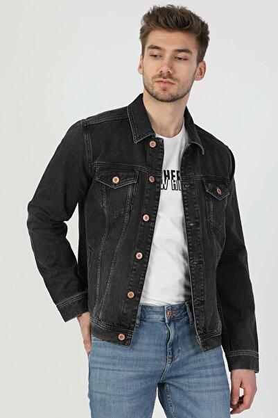 Colin's 020 Mıce Regular Fit Erkek Jean Ceket