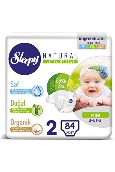 Sleepy Natural Bebek Bezi 2 Numara 84 Adet